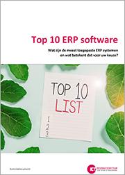 Top 10 ERP software